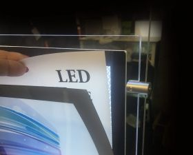LED pocket display (B3) 6xA4