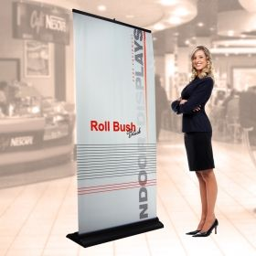 Roll Up Bush 100x200 cm, with print
