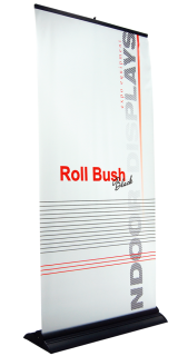Roll Up Bush with print