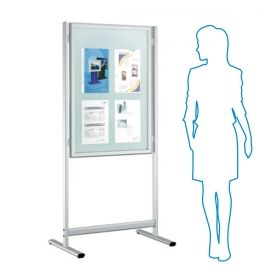 Multi Info Display Stand with pocket A4